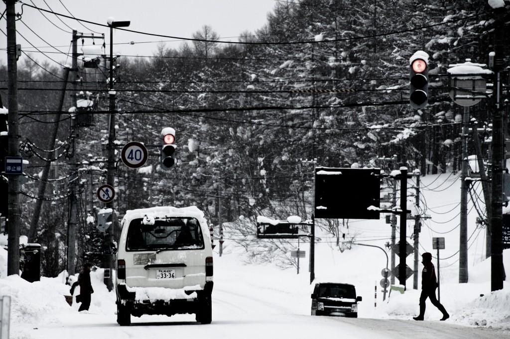 Hirafu main intersection